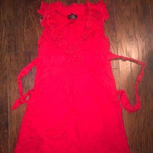 Women's Red Dress